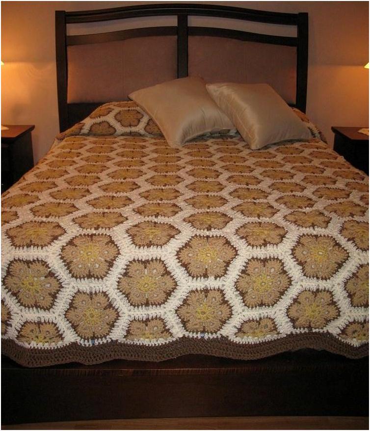 comment tricoter un dessus de lit