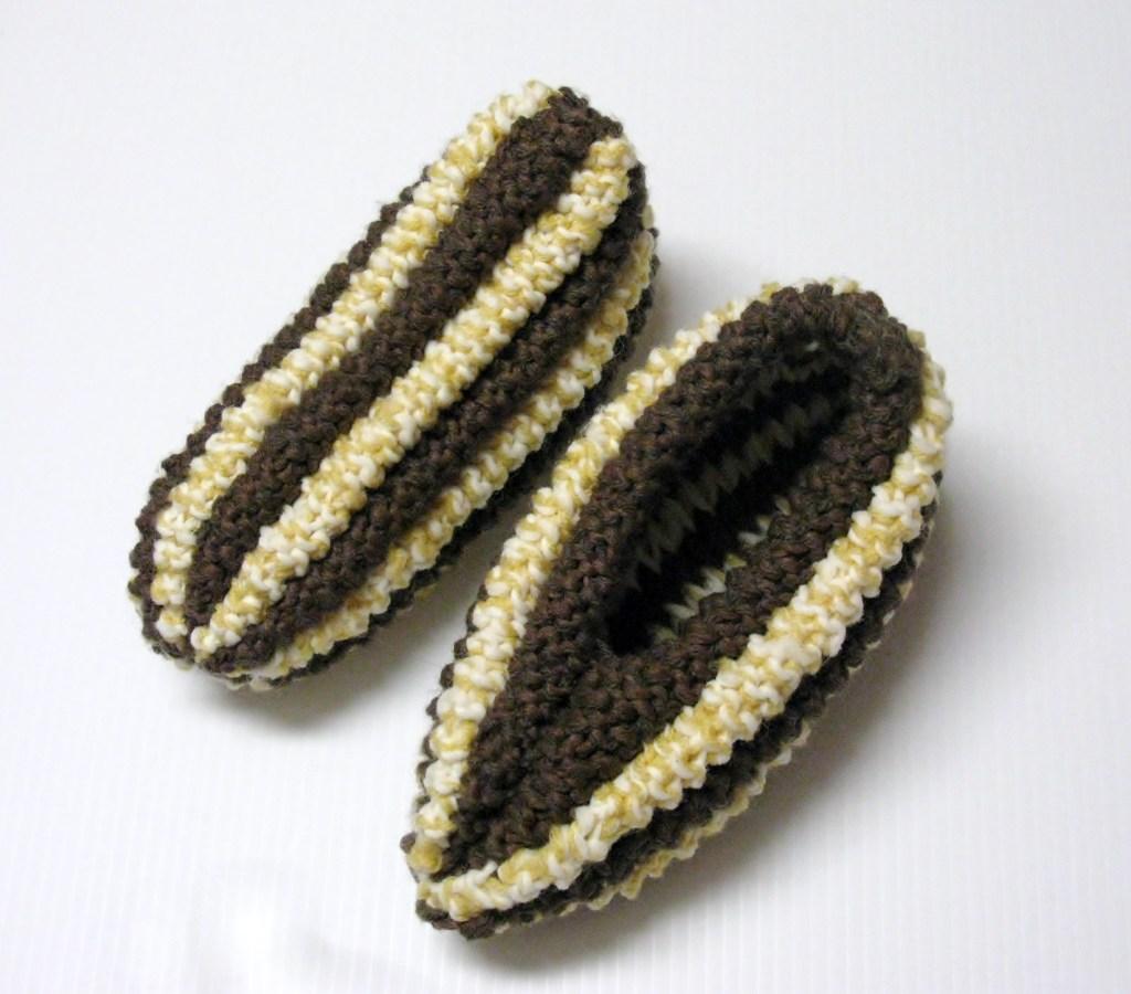 Pantoufles pis de ma s 3 petites mailles - 3 petites mailles ...