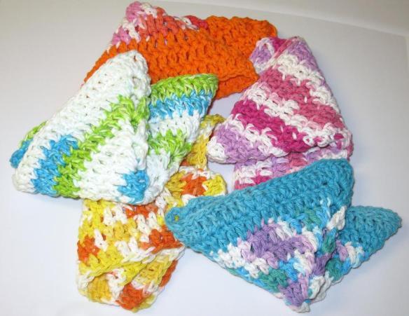 comment tricoter des lavettes a vaisselle