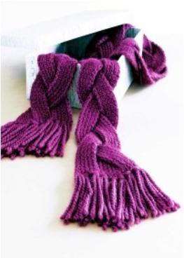 74b0babaa39f 1001 foulards au tricot – enfants et adultes   3 petites mailles
