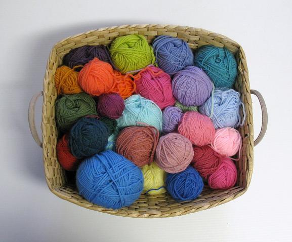 Balles de laine