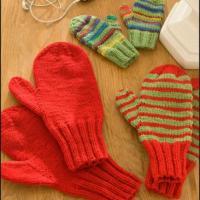 1001 mitaines au tricot - enfants et adultes