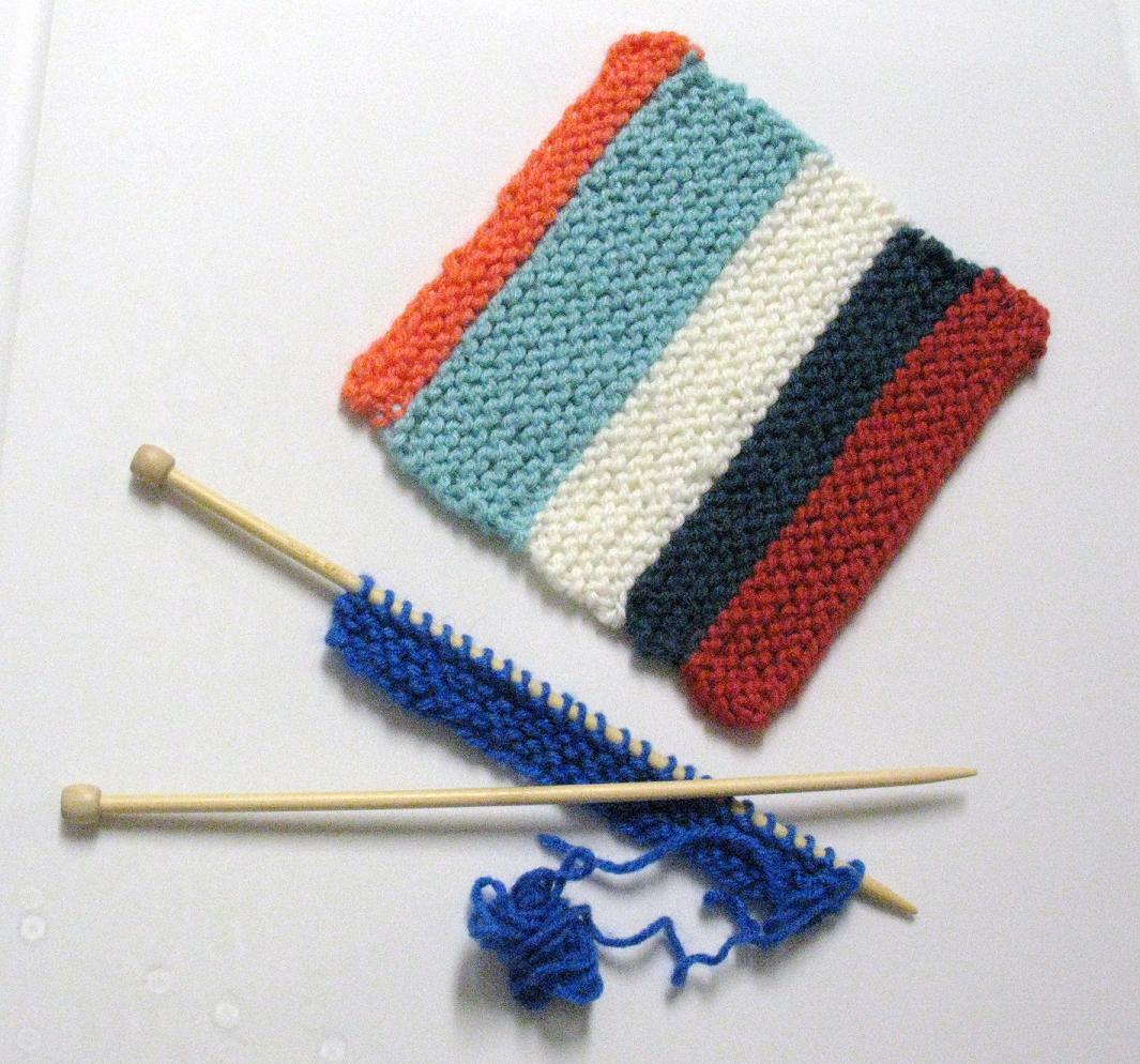 Carre au tricot
