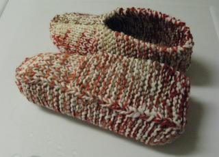 Pantoufles chinées