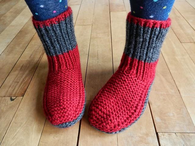 comment tricoter des chaussettes pour adultes