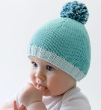 1001 bonnets au tricot – bébés   3 petites mailles 5be059cd733