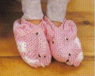 Pantoufles petit cochon