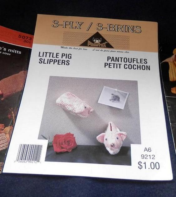 Pantoufles petit cochon_2