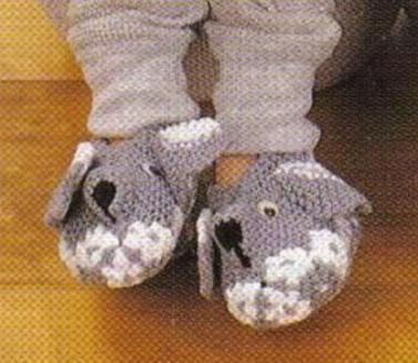 Pantoufles petite souris