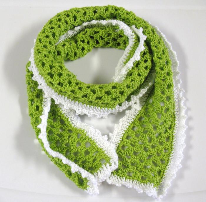 Un printemps un foulard 3 petites mailles - 3 petites mailles ...