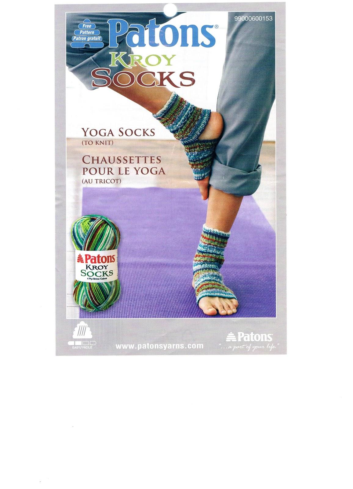 patron tricot bas yoga