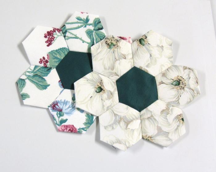Fleurs patchwork