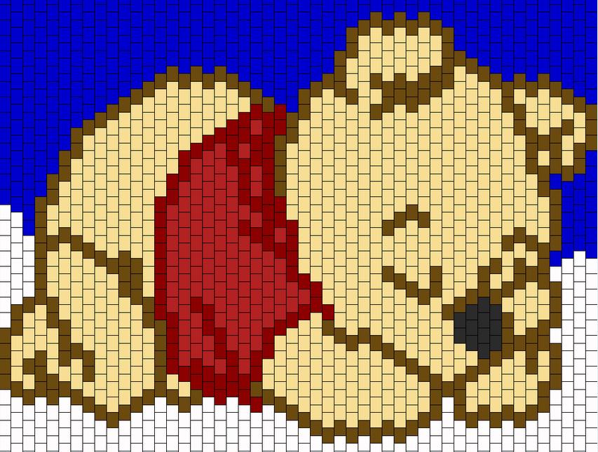 Crochet Pixel 3 Petites Mailles