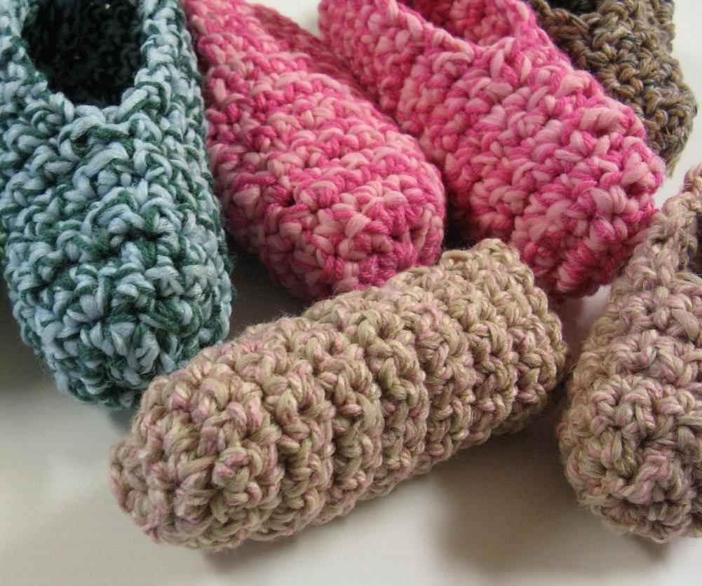Patrons tricot crochet 3 petites mailles chaussons - 3 petites mailles ...