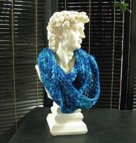 foulard-crochet-bleu