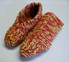 pantoufles-tricot-femme-2-couleurs