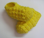 Pantoufles au crochet au point de grappe pour femmes / Cluster Stitch Slippers