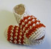 Pantoufles au crochet pour femmes (point floret)