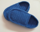 "Pantoufles de style ""loafers"" pour homme / Men's Crochet Loafers Pattern"