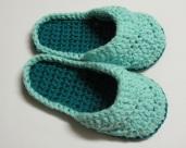 Pantoufles mules au crochet pour femmes / Women's Crochet Mule Slippers