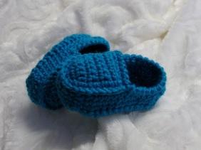 Loafers au crochet pour bébés 0-12 mois