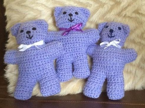 Petit Ourson Au Crochet 3 Petites Mailles