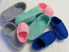 Loafers pour enfants 2-10 ans / Children's Crochet Loafers Pattern - Age 2 to 10