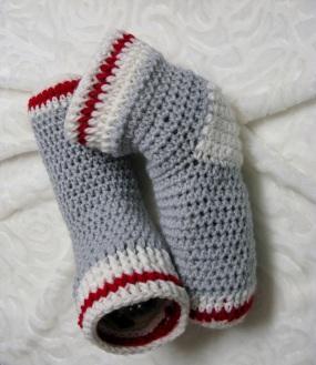 Bottillons de style bas de laine pour les dames