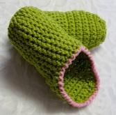 Mules au crochet pour femmes / Women's Crochet Mule Slippers