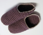 Mules au crochet pour hommes / Men's Crochet Mule Slippers