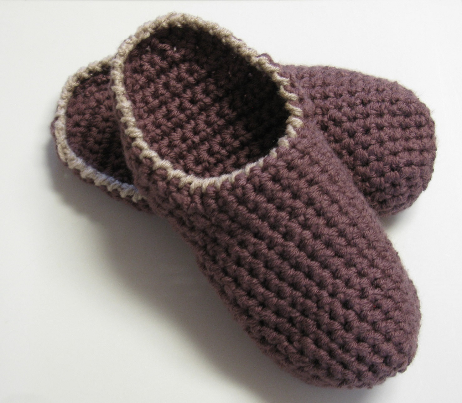Mules au crochet pour hommes