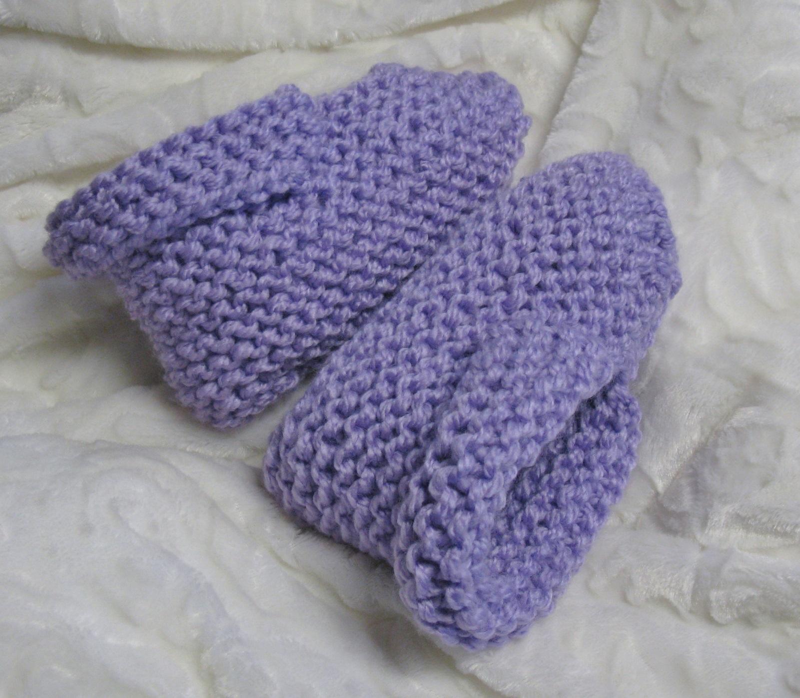 Pantoufles à revers tricot adultes
