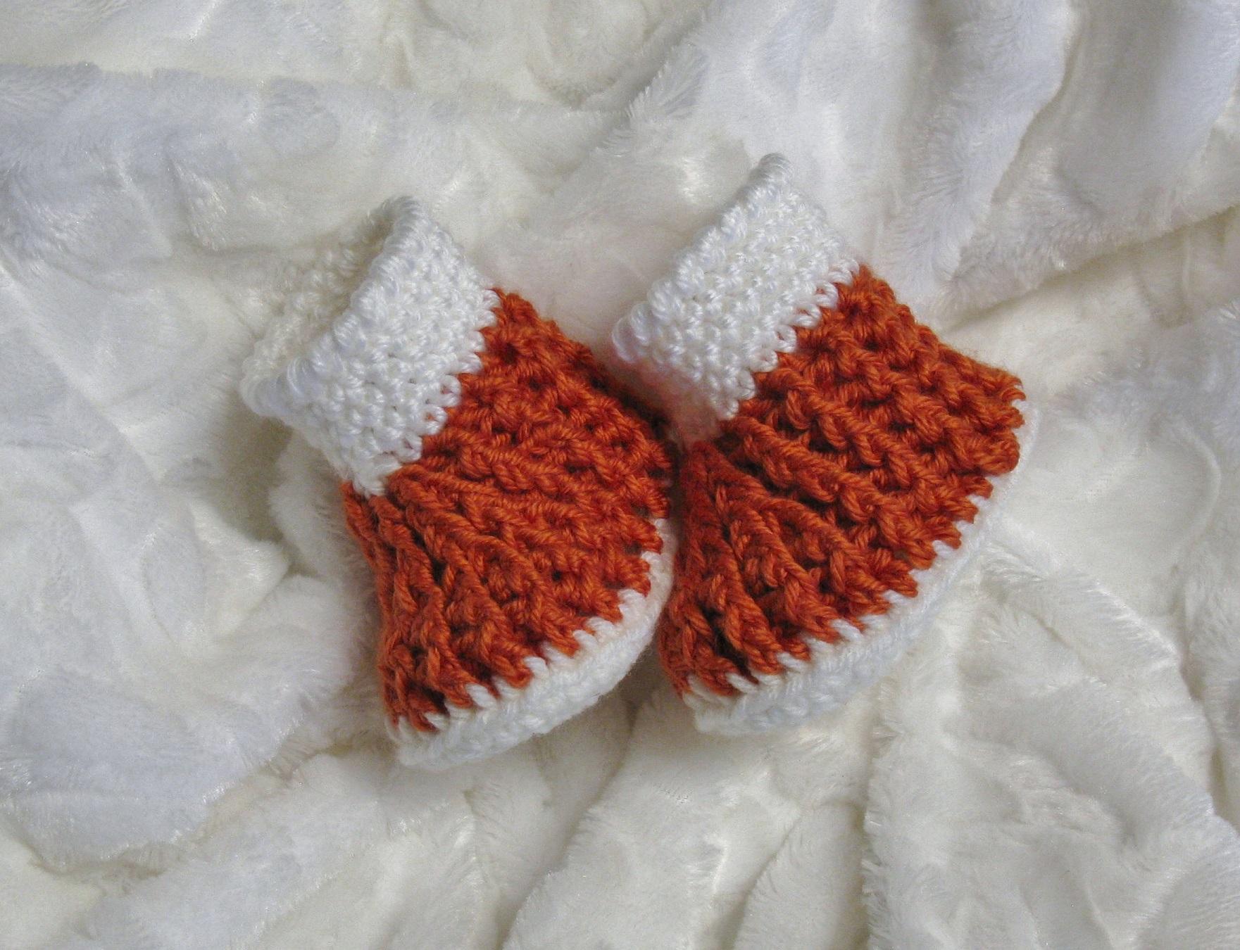 Chaussons à côtes pour bébés 0 à 12 mois