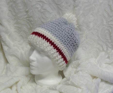 Bonnet bas de laine pour femme