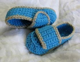 Loafers au crochet pour enfants 2-10 ans