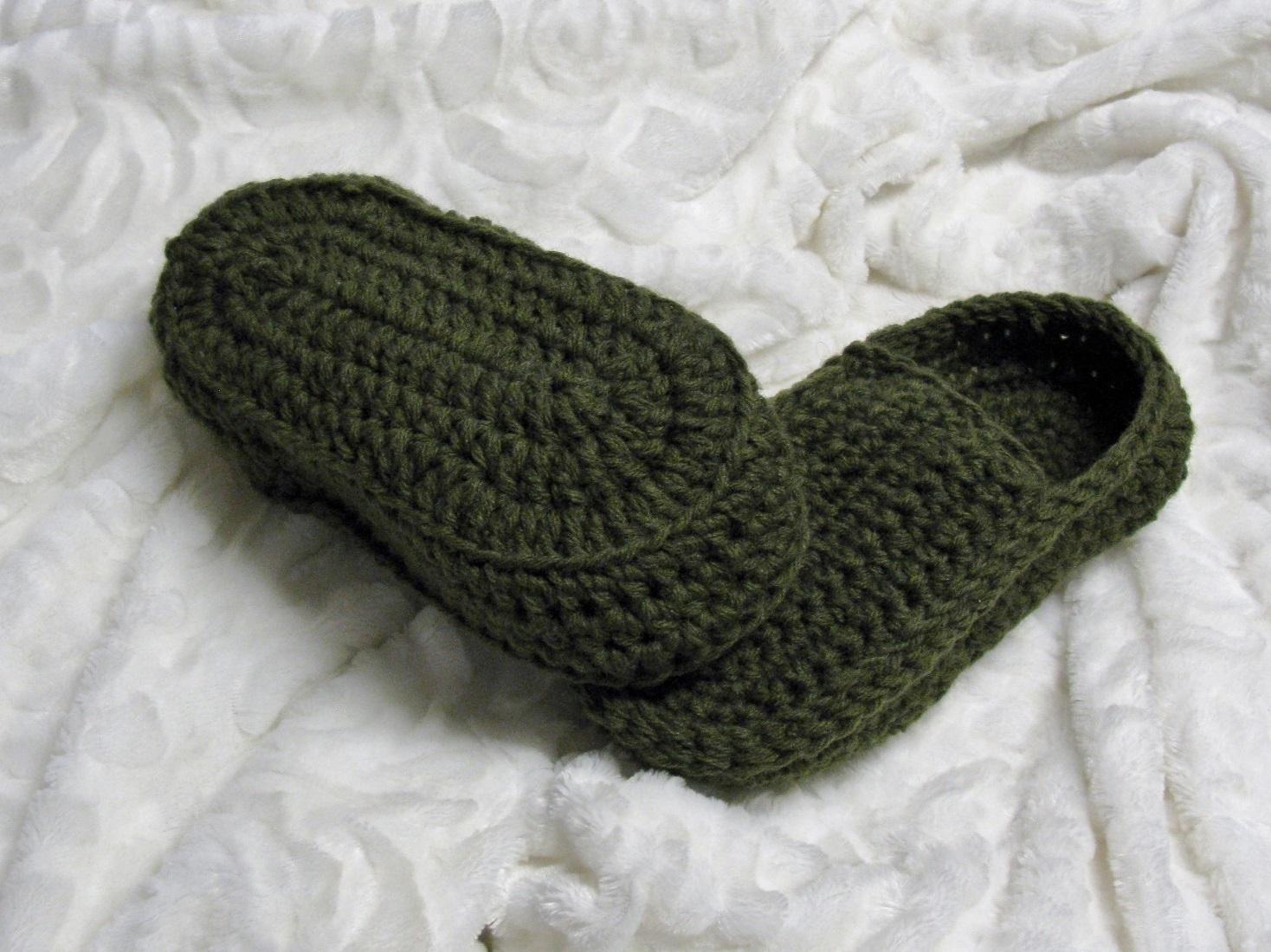 Loafers pour hommes au crochet